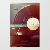 Spin it Canvas Print