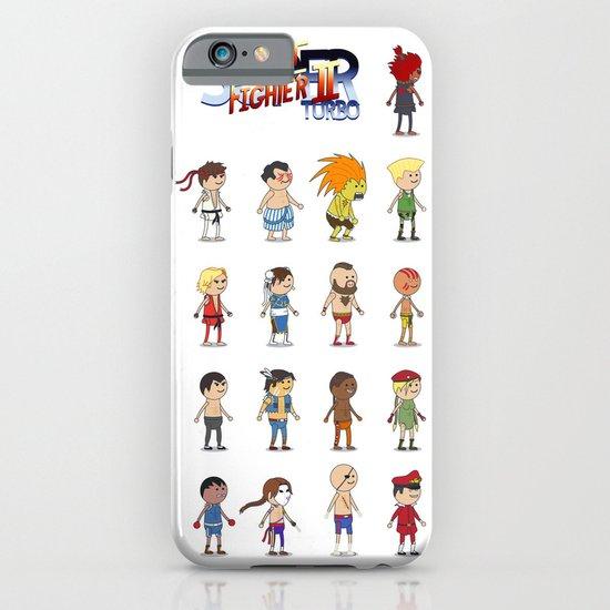 Super Street Fighter II Turbo iPhone & iPod Case