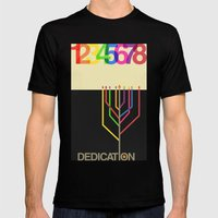 Dedication (8 Days) Mens Fitted Tee Black SMALL