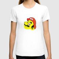 mario T-shirts featuring Mario by CCCRRRAAAIIIGGG