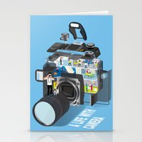 A life with camera Stationery Cards