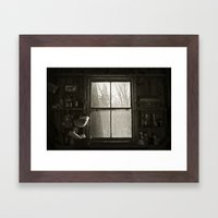 Barn Life  Framed Art Print