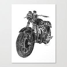 Vintage BSA Super Rocket Motorcycle Canvas Print