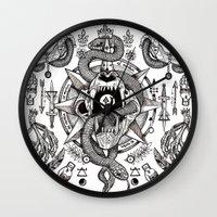 Ad Mortumn Wall Clock