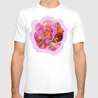 Rose Of Roses Mens Fitted Tee White SMALL