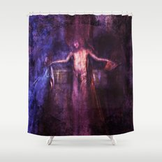 Su', Gesu' Shower Curtain