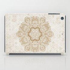 Mandala Temptation in Cream iPad Case