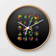 Sacred Shapes & Colors Wall Clock
