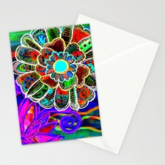 Florem Terrae Dark Stationery Cards