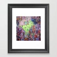 The Scent of Ms. Ooh La La Framed Art Print