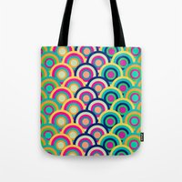 Tote Bag featuring Circle colors by Msimioni