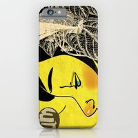 iPhone & iPod Case featuring Yellow Pleasure by chuma hill