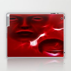 Red Alien Laptop & iPad Skin