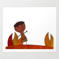 Africa Art Print