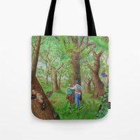A Day Of Forest (3). (Ob… Tote Bag