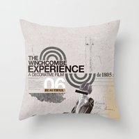Additional poster design- The Wichcombe Experience Throw Pillow