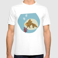 Hector SMALL White Mens Fitted Tee