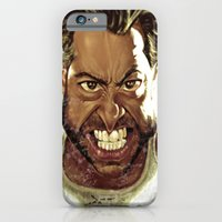 iPhone & iPod Case featuring Wolverine Caricature by Bharat KV