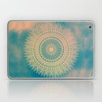 GOLDEN SUN MANDALA Laptop & iPad Skin