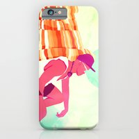 iPhone Cases featuring Ocean Noise by Alex Craig