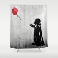Little Vader - Inspired … Shower Curtain