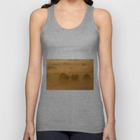 Gold In The Hedgerows Unisex Tank Top