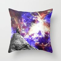 Star Gazing Throw Pillow