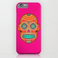 sugar skull iPhone & iPod Cases featuring Sugar Skull by Good Sense