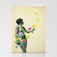 She's A Whirlwind Stationery Cards
