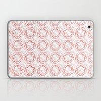 Spirograph Roses Laptop & iPad Skin