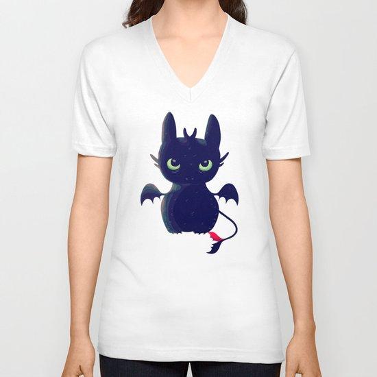 Night Fury V-neck T-shirt