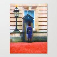Queens Guard Canvas Print