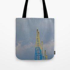 Crane Jibs Tote Bag