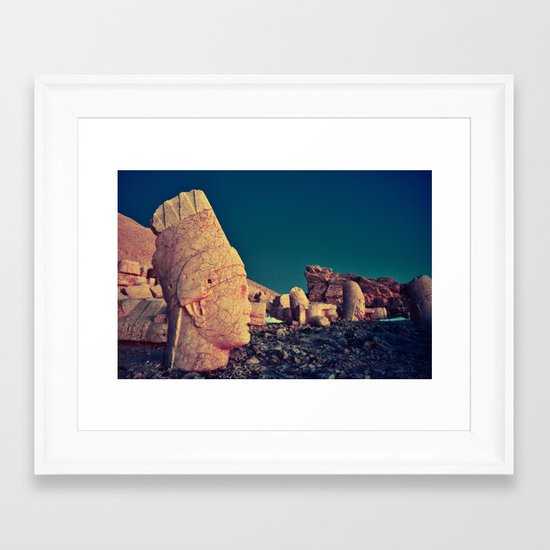Nemrut I  Framed Art Print