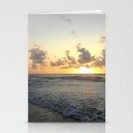 Morning On The Beach Stationery Cards