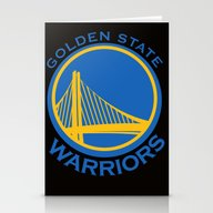 NBA - Warriors Stationery Cards