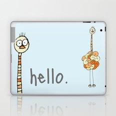 Hello Ostrich Laptop & iPad Skin