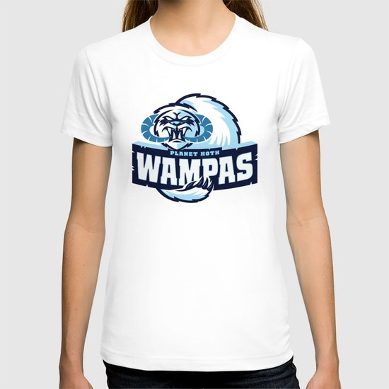 Planet Hoth Wampas - Blue T-shirt