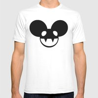Deadmau5 Mens Fitted Tee White SMALL