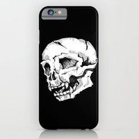 iPhone & iPod Case featuring Skull Sketch by Murkwood