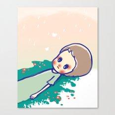 a little star Canvas Print