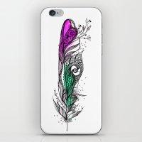 Eye-ris 1 iPhone & iPod Skin