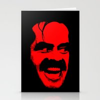 Heeere's Johnny! Stationery Cards