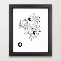 Evo Framed Art Print