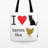 I Heart Cats Tote Bag