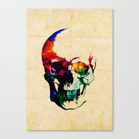 I Live Inside Your Face Canvas Print