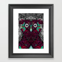 Owl You Need Is Love (Feat. Bryan Gallardo) Framed Art Print