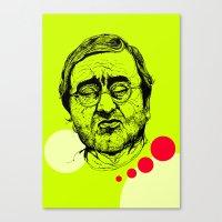 Lucio Dalla Canvas Print