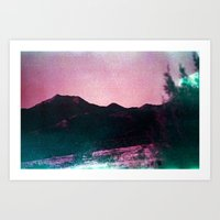 The Slope Art Print