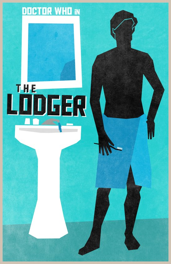 The Lodger (11 in a series of 13) Art Print